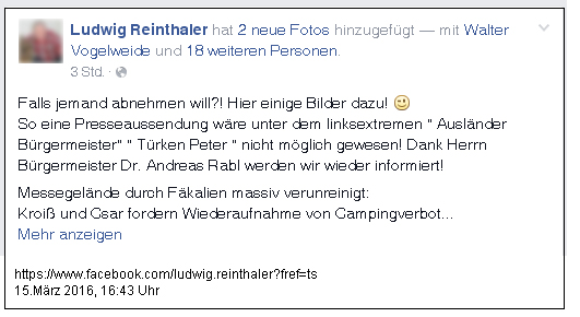 160315 fb reinthaler wels messegel rahmen Gauss