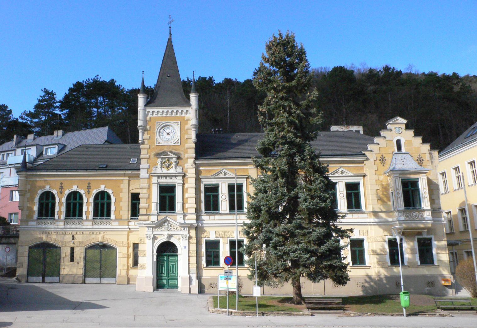 Rathaus Kaltenleutgeben !