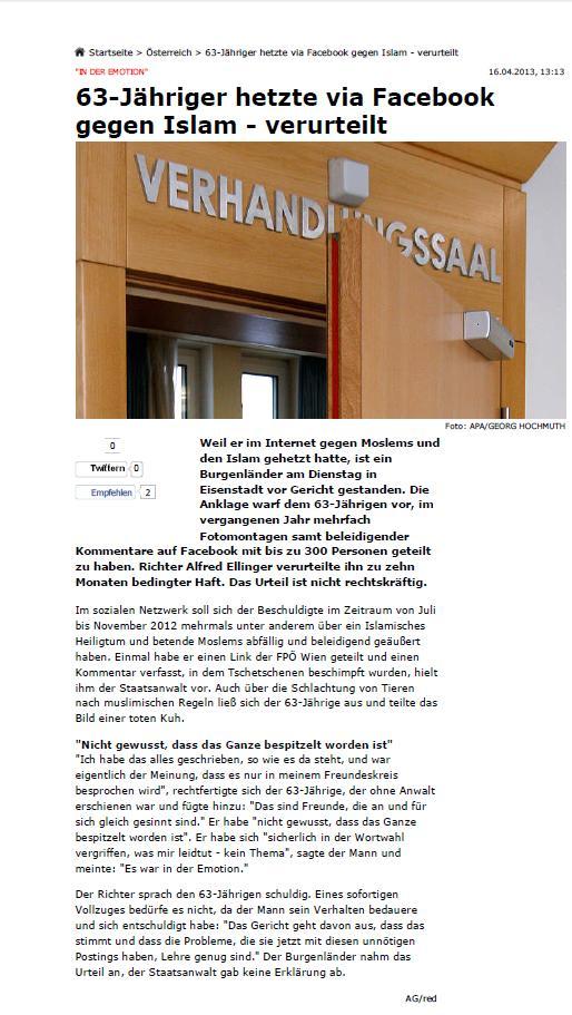 130416 Krone 63jähriger verurteilt!