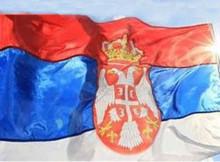 serbische Flagge 01