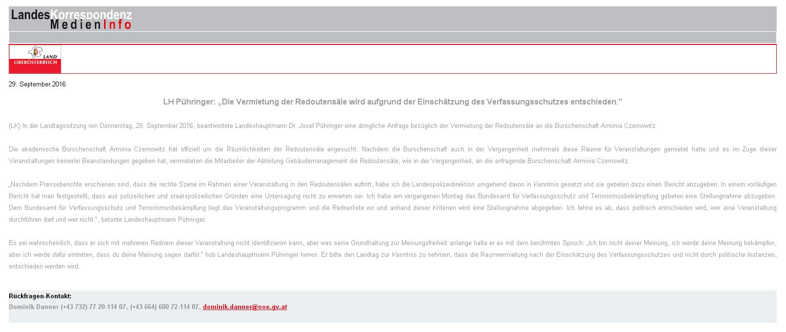 160929 Landtag tagt Redoutensäle
