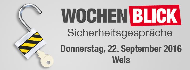 Wochenblick Sicherheitsgespräche 22092016 wels
