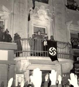 Hitler Balkon Rede