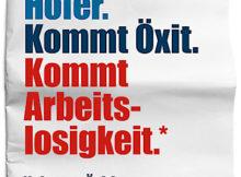 BILD zu OTS - Das erste Sujet der Kampagne ãNein zum …xitÒ